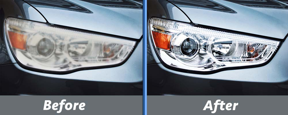 Headlight Restoration Services Top Shine