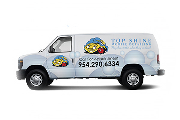 Top Shine Mobile Detailing Van