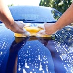 A Basic Hand Wash of Car Exterior